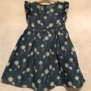 Gymboree Pocketful Of sunshine dandelion dress 3T